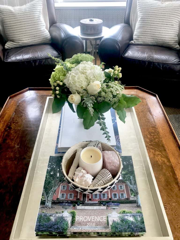 coffee table styling, lighten your living room