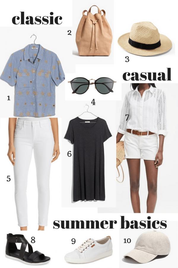 Summer wardrobe basics
