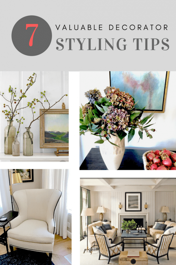 seven tips to help you style your home