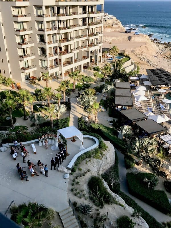 wedding at the Cape Cabo San Lucas