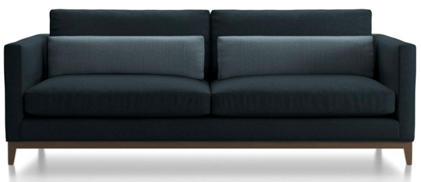 sleek and comfortable Lee Industries two seater sofa