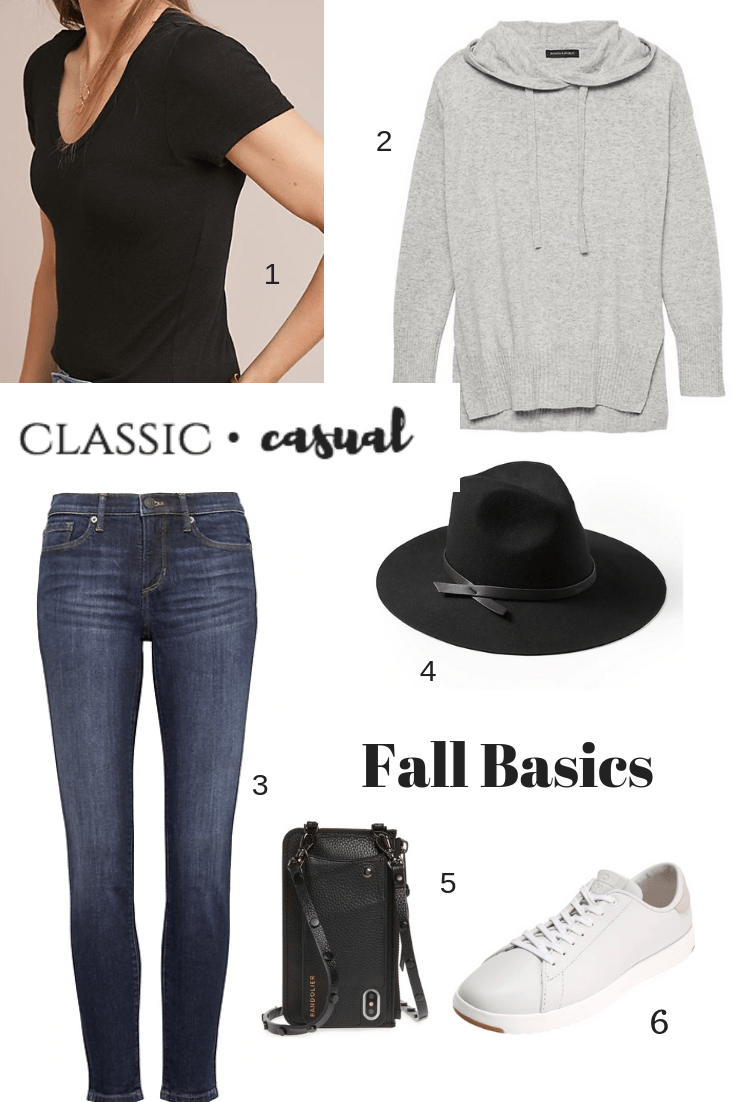 Fall Wardrobe Basics, skinny jeans, fedora hat, white sneakers