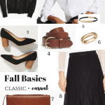 Mix and Match Fall Fashion Basics to Update Your Wardrobe