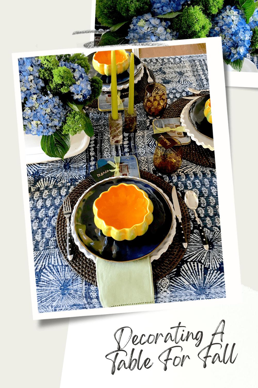 Mary Ann Pickett's Fall Table
