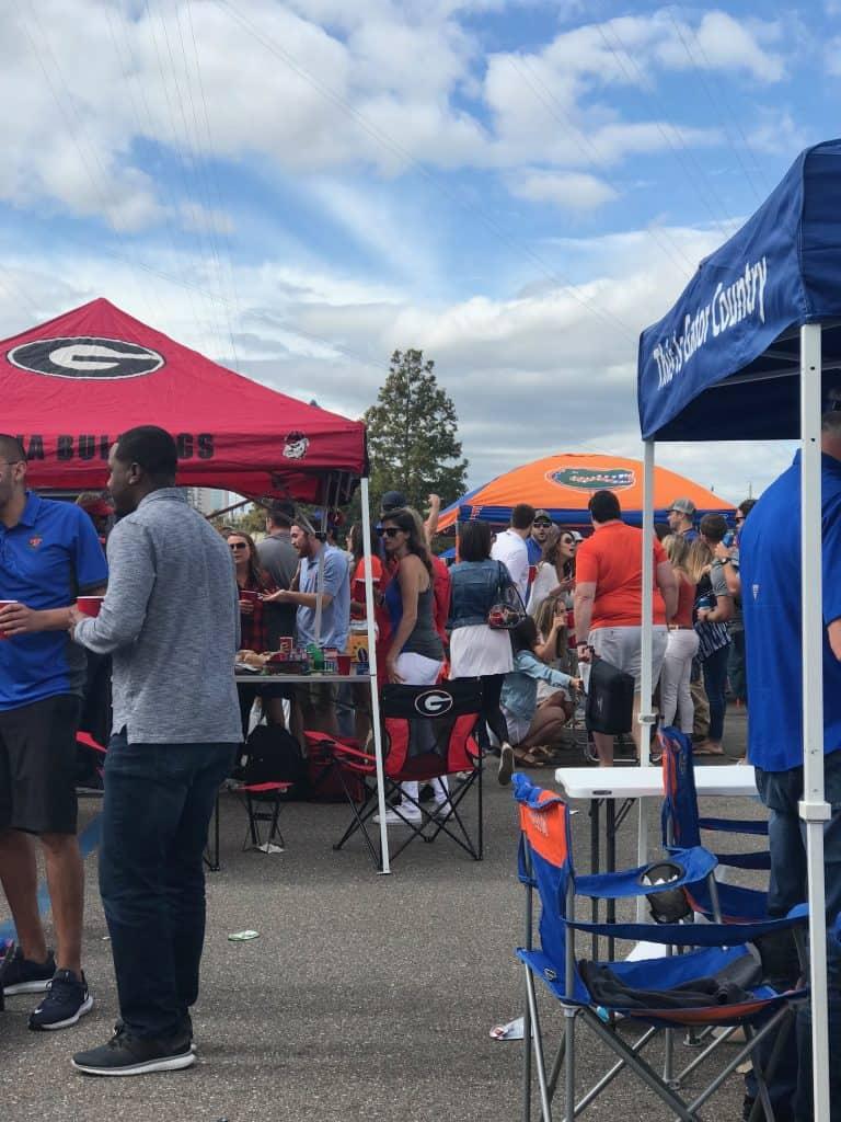 Florida Georgia Tail gate party