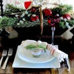 Holiday Table With Easy To Make Gourmet Party Favors