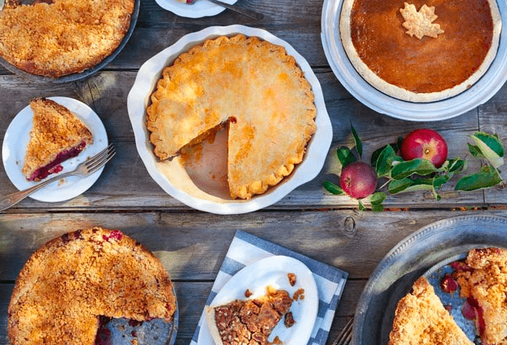 Thanksgiving Menu, Great Dessert Pies and More News
