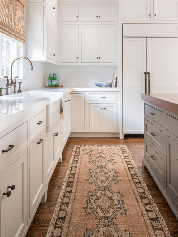 Vintage Rug Runners in The Kitchen are So NOW...My Favorite ...