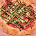 Easy Prosciutto Asparagus Pizza And Our Plaid Party!