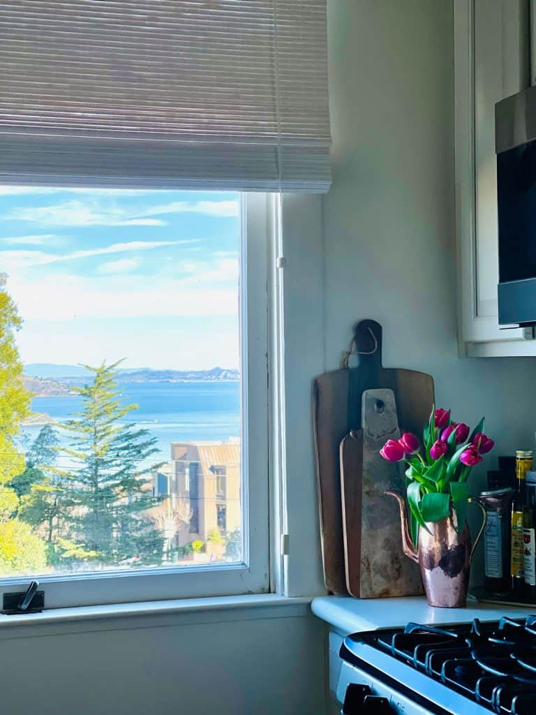 SF View From Kitchen Home Tour