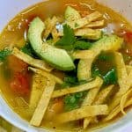 Rotisserie Chicken Tortilla Soup, Shaved Broccoli Salad and More Of My Favs