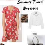 Summer Travel Wardrobe Mix and Match Outfits