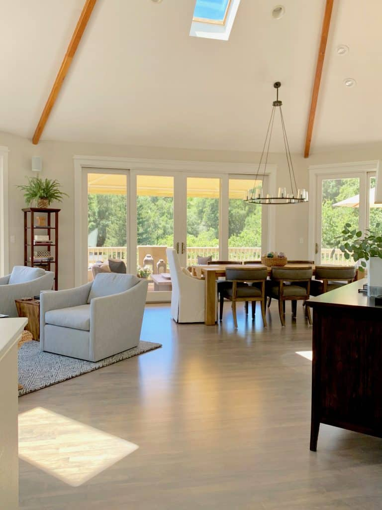 Surprising Living Dining Room Makeovers With Gorgeous Views Before Spiritservingveterans Wood Chair Design Ideas Spiritservingveteransorg
