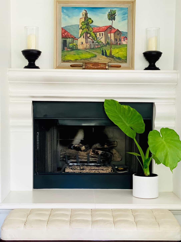 Teresa Cunninghams fireplace