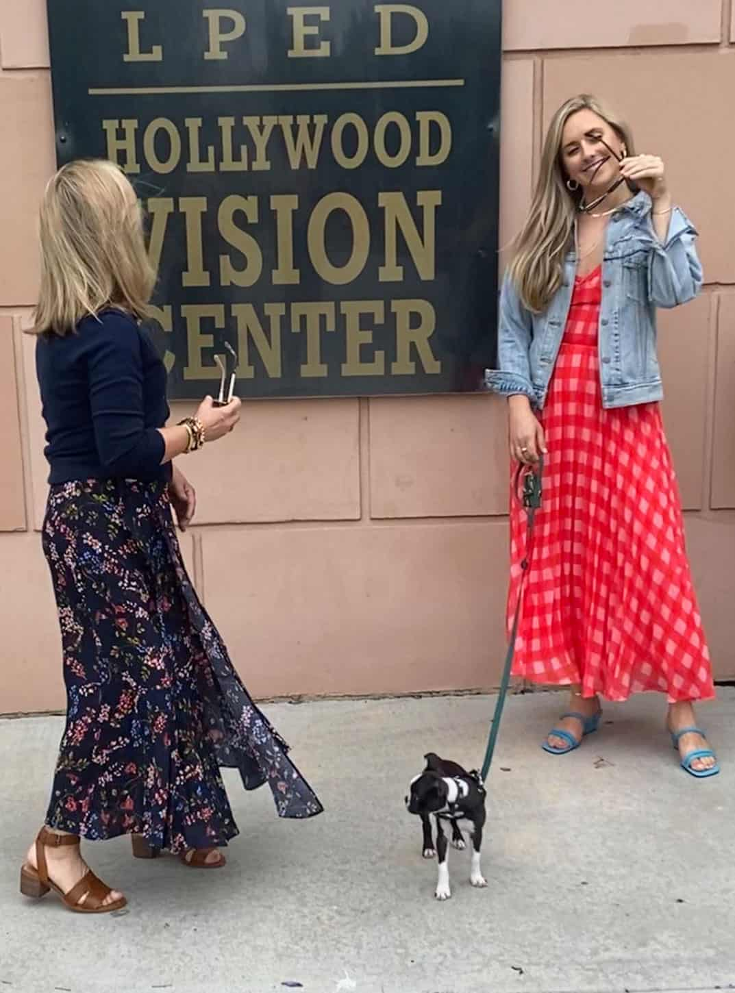 Mother Daughter long skirts Fashion Blogger Mary Ann Pickett