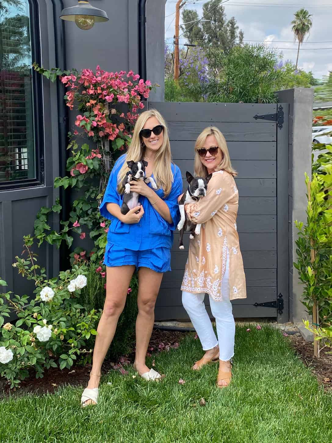 Fashion Over 60 Blogger Mary Ann Pickett, Silk Mother Daughter outfits