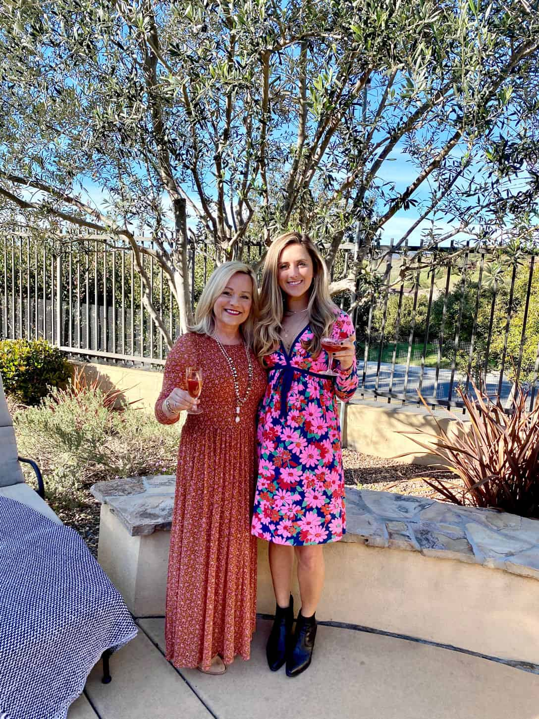 Fashion Over 50, Mother Daughter with Blogger Mary Ann Pickett