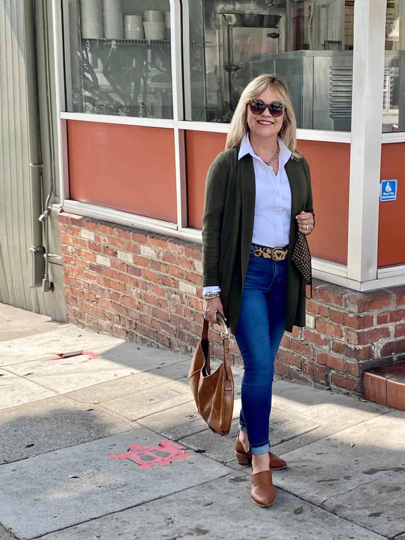 Over 50 Fashion Blogger Mary Ann Pickett