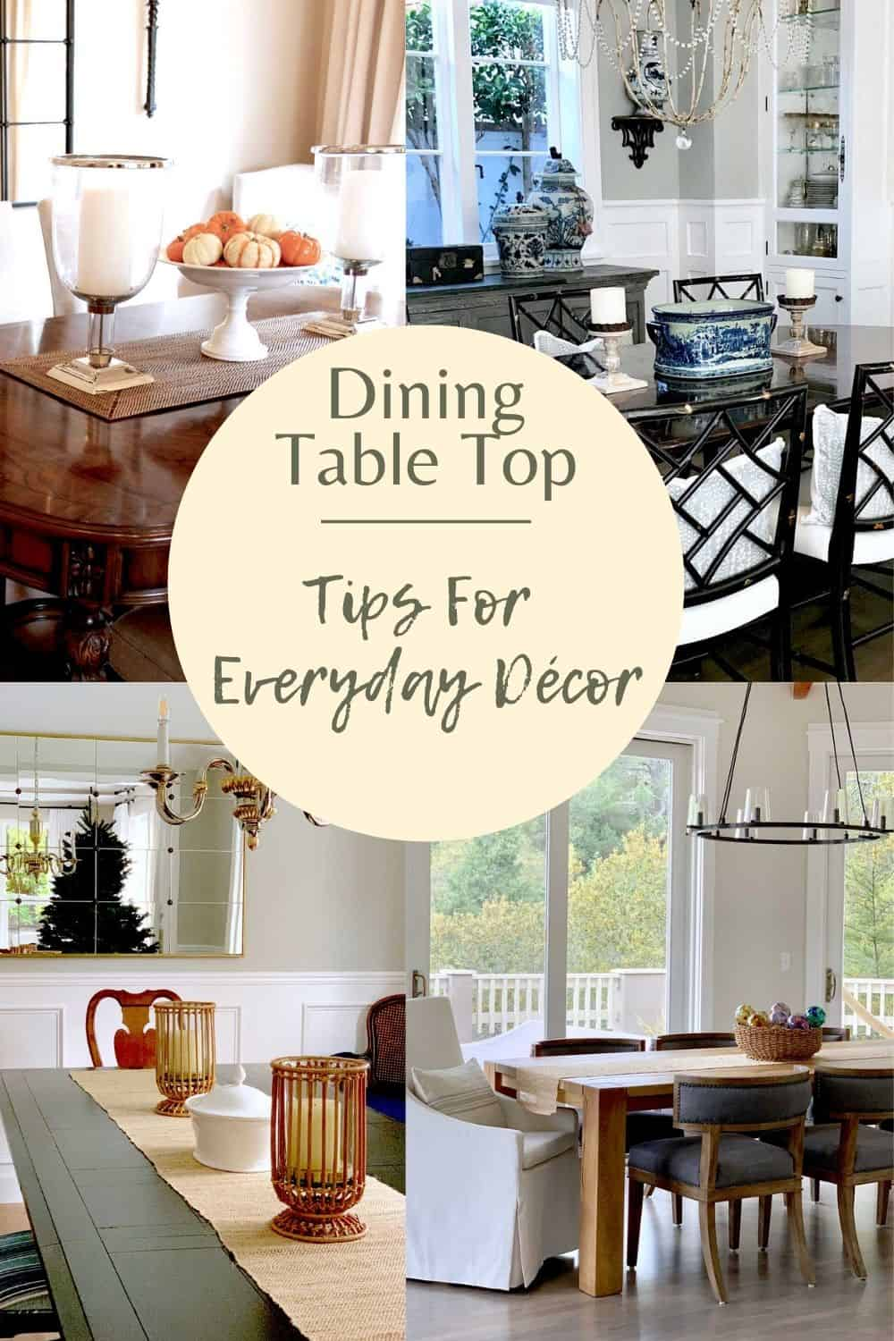 Decorator Mary Ann Pickett's Tips For Dining Table Decor