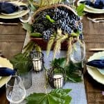 Wine Country Inspired Harvest Table