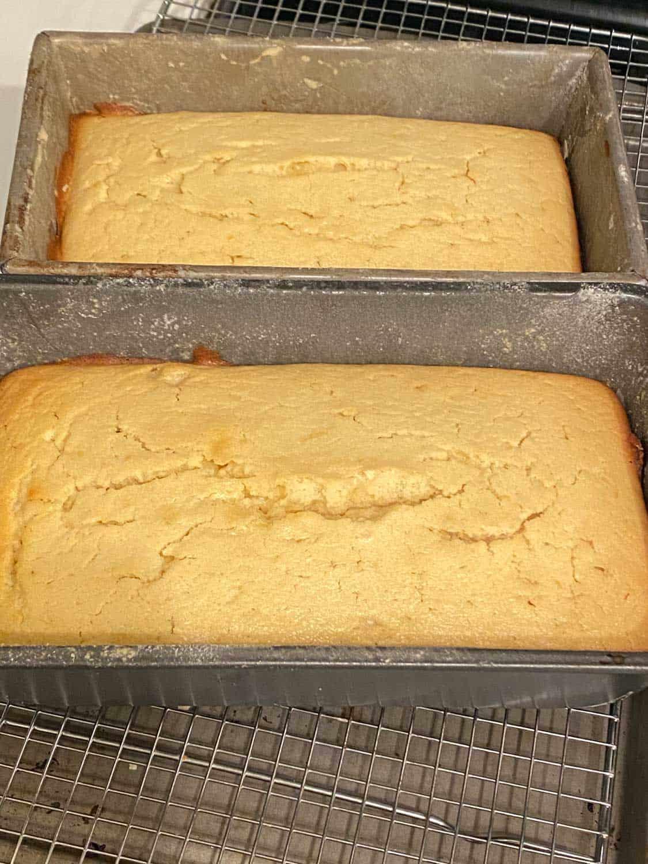 baked lemon cakes for Christmas Family Brunch