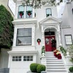 Christmas Family Brunch And Victorian Homes in SF