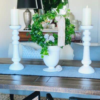 Mary Ann Pickett's Table at Christmas