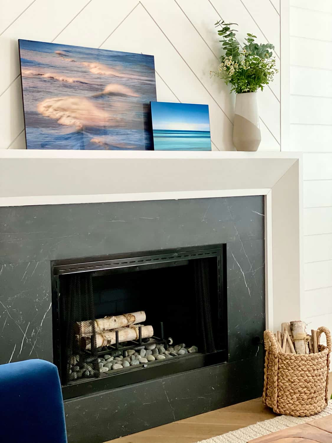 Modern Photography art Decorating Traditional Living Room