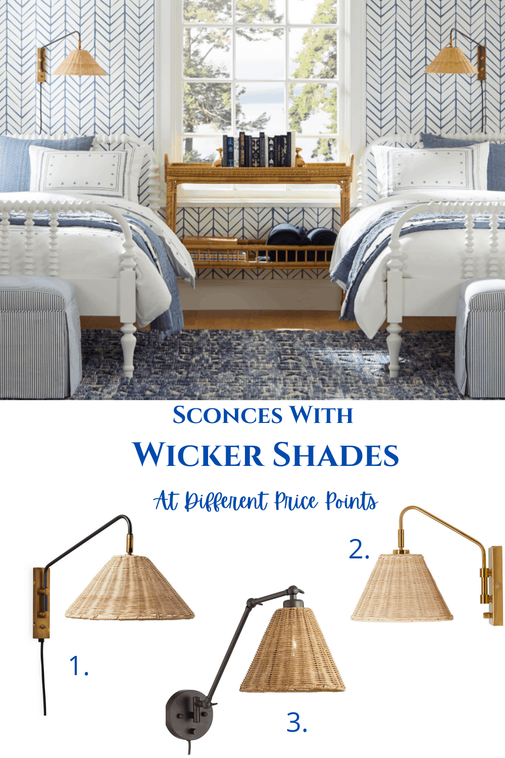 Wicker Shades at Different Price Points