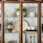 5 FAVES: Styling A Traditional China Hutch, A Secret, and More
