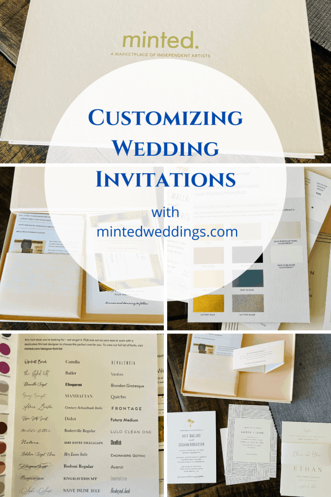 sample wedding invitations from Minted.com