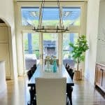 Steps For A Fresher Dining Room! Before and After