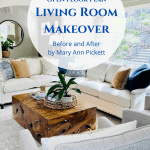 New Life To An Open Plan Living Room: Before & After