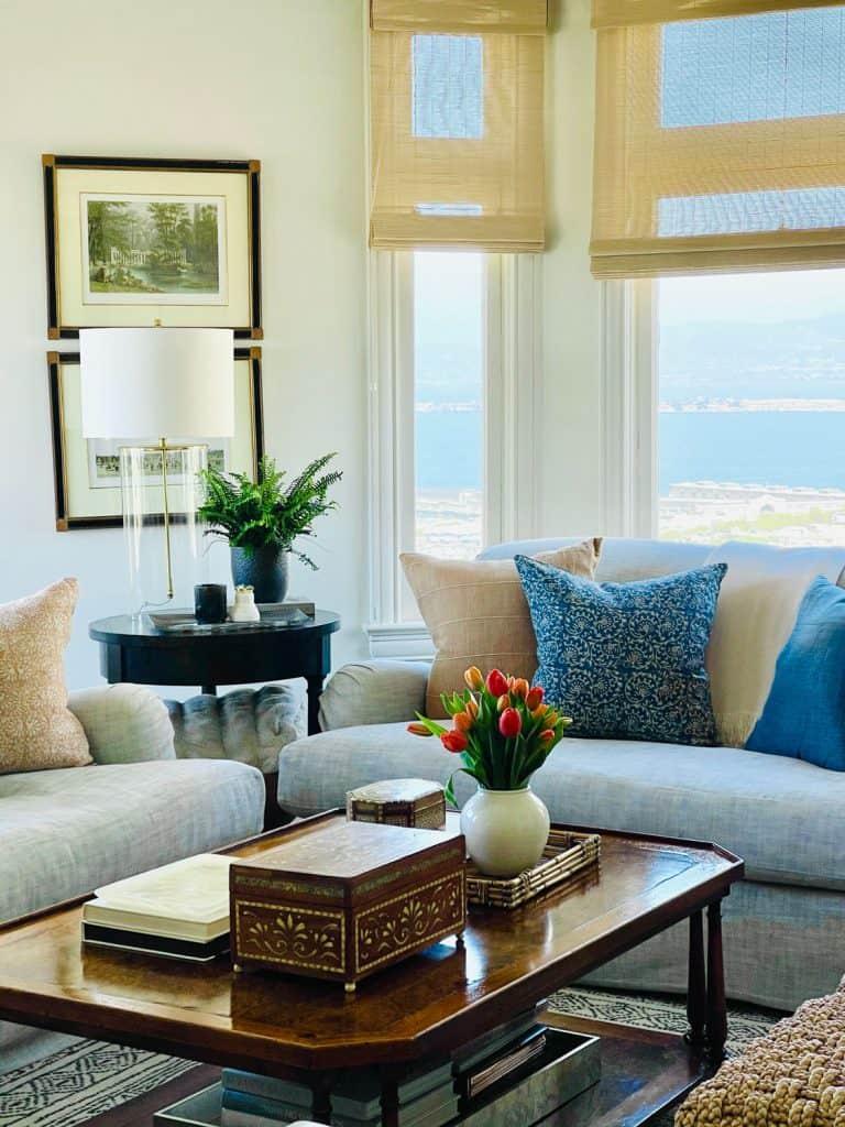 Mary Ann Pickett's SF Living Room