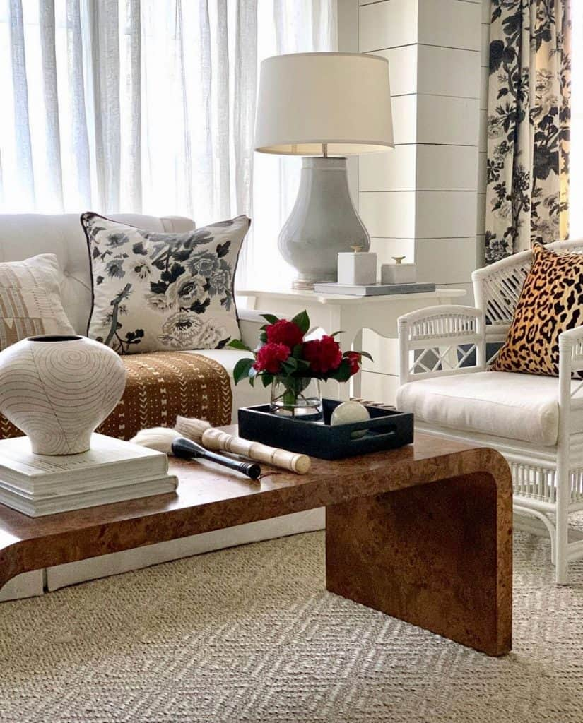Sherry Hart Layered Design Coffee Table Styling