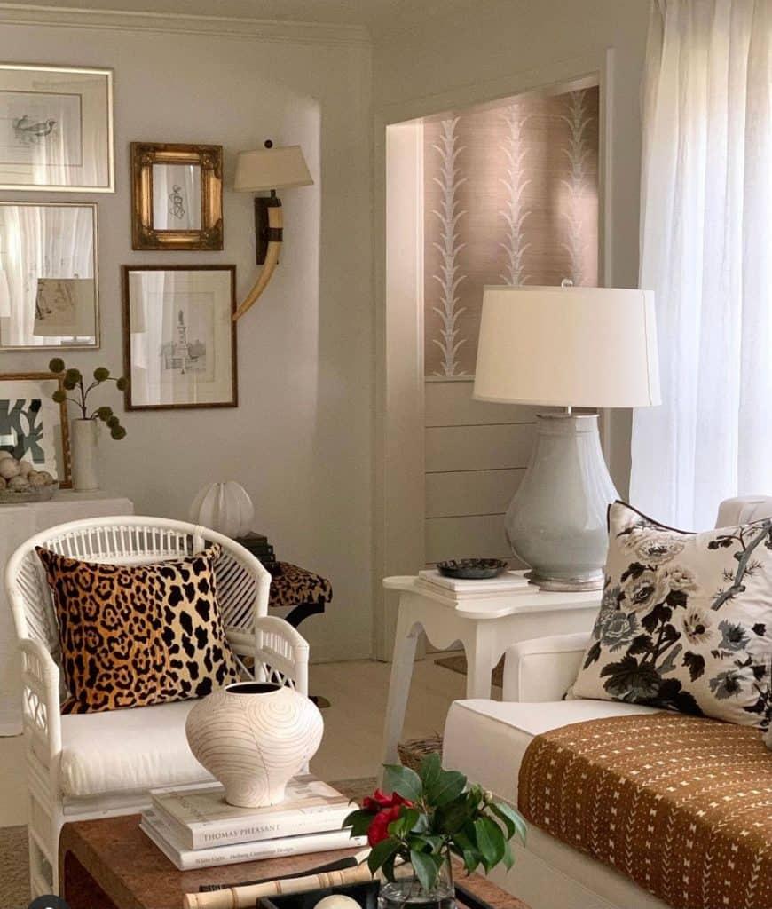 Sherry Hart Layered Design Living Room