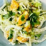 refreshing citrus and fennel salad