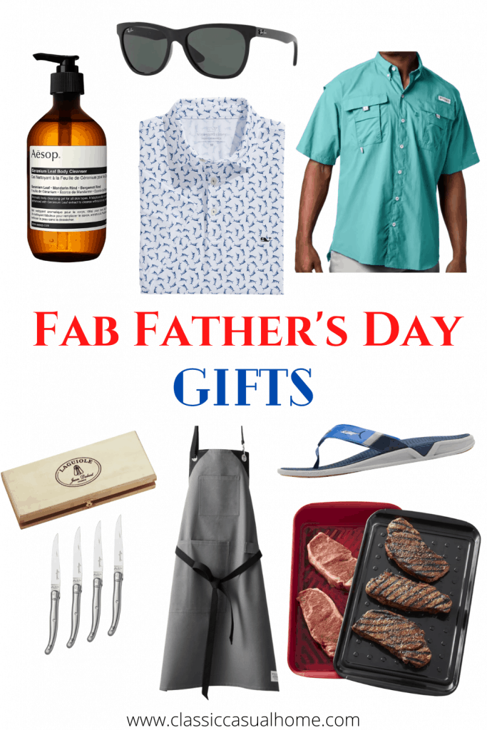 Mary Ann Pickett's Father Day Gift recommendations