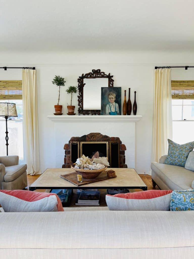 Living room styling by Cindy Hattersley