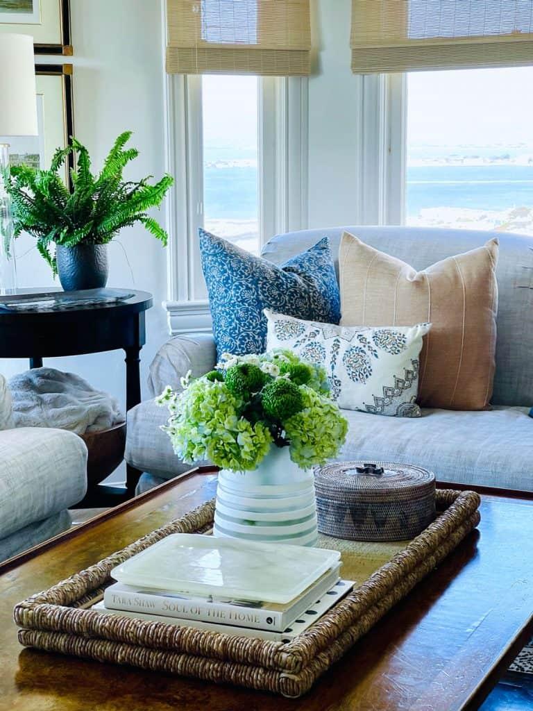 easy coffee table refresh