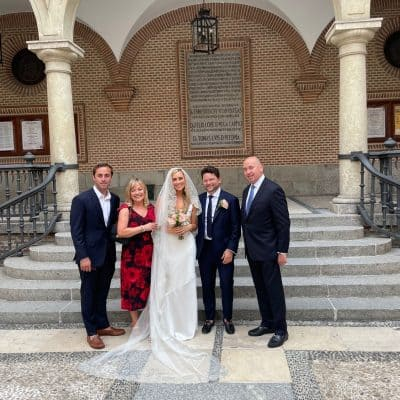 A Simple Wedding In Madrid with Mary Ann Pickett