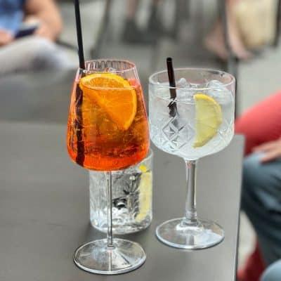 summer Aperol Spritz Cocktail