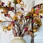 Entertaining Ideas And A Touch of Fall Decor With Faux Branches