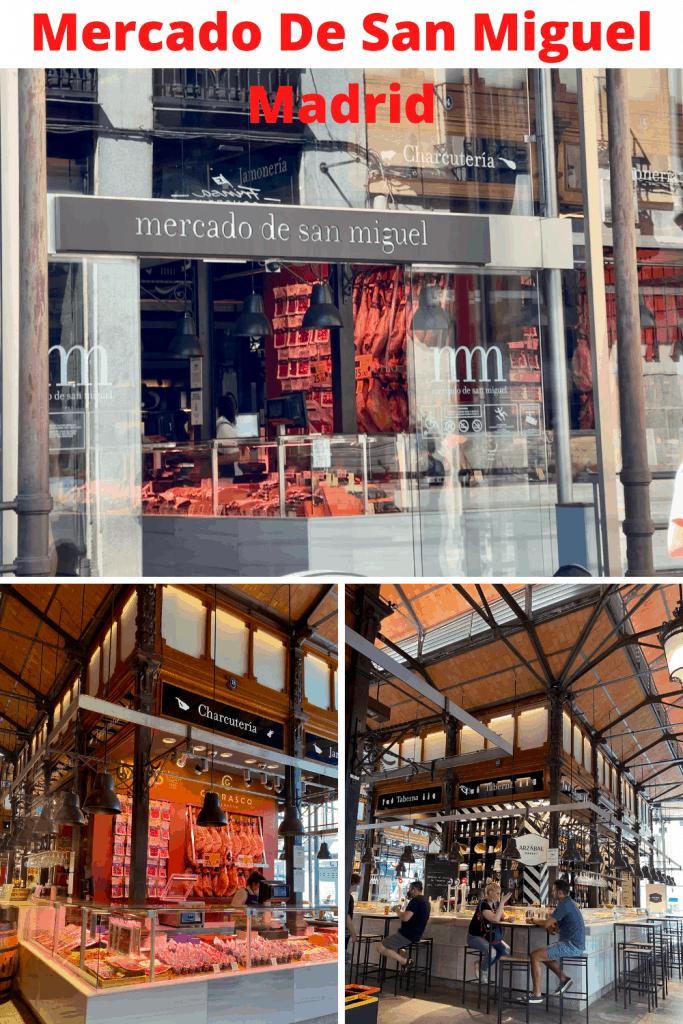 Tapas Mercado in Madrid