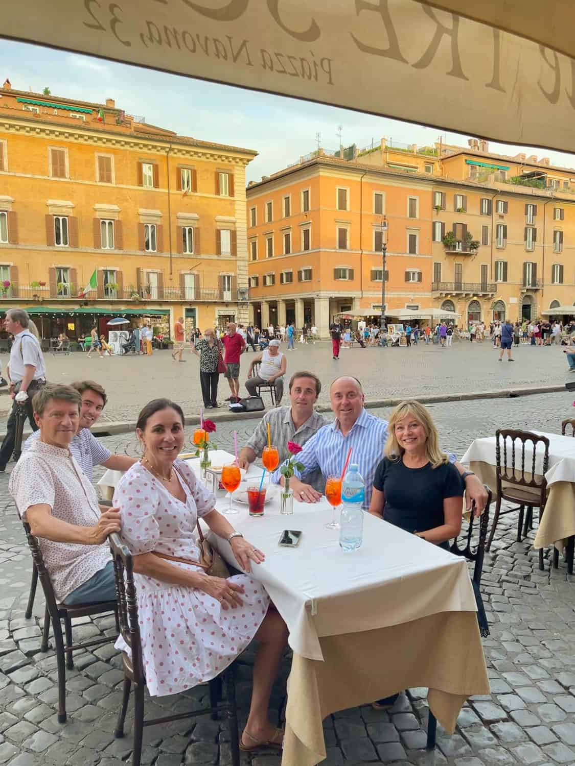 In Rome with Aperol Spritz