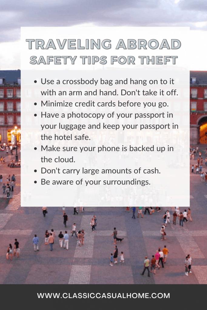 Travel Design Safety Tips