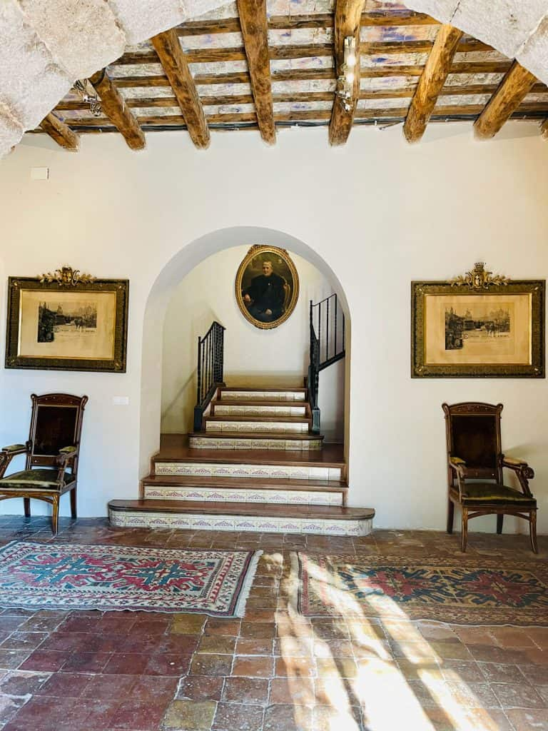 renting an ancient manor in Spain