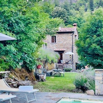 Ancient Stone Farmhouse in Cortona