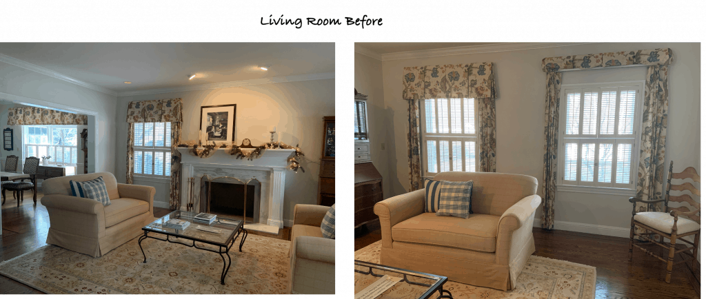 Dated Living Room